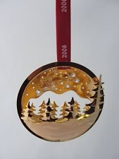 2006 GEORG JENSEN CHRISTMAS DECORATION MOBILE SNOW TREE