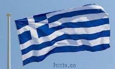 New Polyester GREEK Flag Brass Eyelets 90cms X 150cms