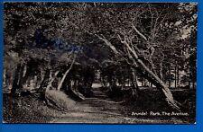 OLD POSTCARD THE AVENUE ARUNDEL PARK SUSSEX NR LITTLEHAMPTON CHICHESTER BOGNOR