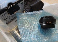 PANASONIC LUMIX G 20mm F1.7 ll ASPH. LENS WITH BAG/BOX/BOOKLET & CAPS