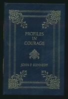 Profiles in Courage John F. Kennedy Easton Press 1992 Illustrated Leather