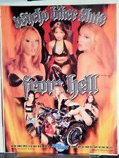 CHANDLER/ GINA RYDER/ TEMPETRESS/FELECIA LUSCIOUS BEAUTY VIDEO DEALER AD 2000S)