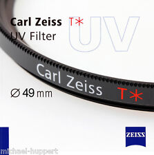 Carl Zeiss t * filtro UV 49 mm