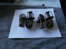 Set Of 4 Antique Vintage Metal Wheel Wheels