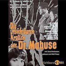 Die unsichtbaren Krallen des Dr. Mabuse - CD von Gülzow,... | Buch | Zustand gut