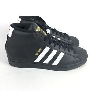 Adidas Originals Pro Model Shoes Mens Size 8 Black FV5723