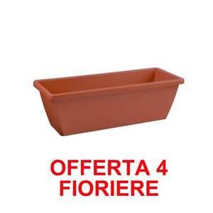 ELHO OFFERTA 4 FIORIERA BARCELONA TROUGH 50CM TERRA