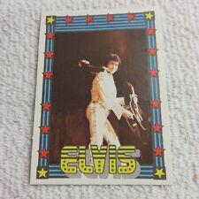 1978 Monty Gum - ELVIS PRESLEY - Club Card From Holland - (Blank Back) - Card 49