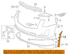 GM OEM-Bumper Trim-Outer Molding Left 22933605