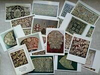 ✅🔥☯ Ancient Russian Golden Embroidery (GOLD SEWING): 23 postcards. Moscow, 1982