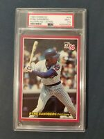 1984 Donruss Action All-Stars #43 RYNE SANDBERG ~HOF~ Cubs PSA 7.5 NM +