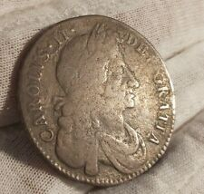 More details for charles ii 1679 premo halfcrown in collectable condition. k98