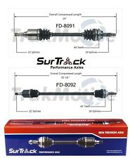 For Ford Aspire FWD 1994-1997 Pair of Front CV Axle Shafts SurTrack Set