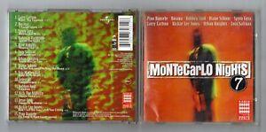 Cd MONTECARLO NIGHTS Vol 7 – OTTIMO Volume 7 1997 Radio Monte Carlo Compilation