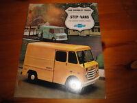 1968 Chevrolet Trucks Advertising Brochure Step-Vans