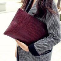 New Fashion Women's Zipper Messenger bag Handbag Clutch Purse Wallet Party Work