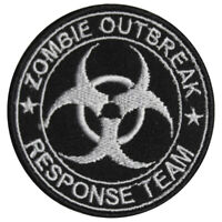 Zombie Outbreak Response Logo Patch Iron On Sew On Badge Embroidered Patch