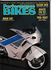 Performance Bikes 88-11 Morini Dart Kawasaki GPX750 Aprilia Sintesi Twins Frenzy