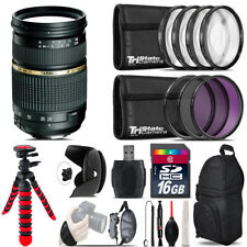 Tamron 28-75mm Lens for Canon + Macro Filter Kit & More - 16GB Accessory Kit