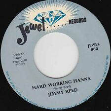 "JIMMY REED - Hard Working Hanna 7"" 45"