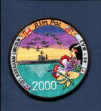 CVN-72 LINCOLN CVW-14 RIMPAC 2000 US NAVY Ship Squadron Cruise Jacket Patch