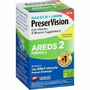 Bausch & Lomb PreserVision AREDS 2 Formula Eye Vitamin & Mineral Supplement