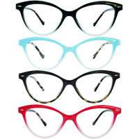 Soft Cat Eye Style Reading Glasses with Spring Hinges Arm for Women 1.00-4.00