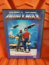 Iron Eagle DVD Widescreen w/insert Gedrick Lou Gossett Jr Tim Thomerson OOP