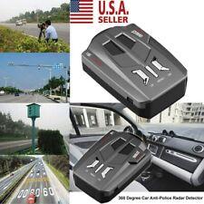 360° 16 Band Car Trucker Speed Voice Alert Warning V9 Laser Radar Detector Usa