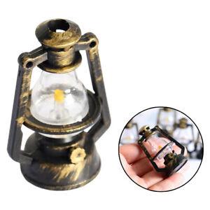 Plastic Dollhouse Miniature Retro Lantern House Lamps Decor Accessories