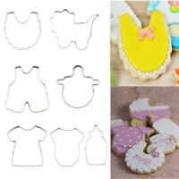 Cookie Cutter Biscuit Mold Pastry Cake Decor Baking Mould Tool Baby Theme7x/set
