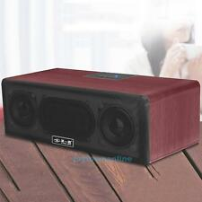 Portable Wooden Wireless Bluetooth Subwoofer Speaker for Laptop Computer MP4 EVD