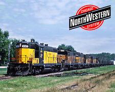 Chicago & North Western Geeps Metal Sign