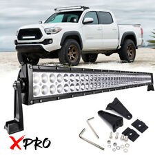 """For 05-15 Toyota Tacoma 40"""" Inch LED Light Bar Combo Roof Upper Driving Lamp 42"""