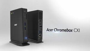 New Acer Chromebox CXI2 Computer 4GB 16GB HDMI DisplayPort New Keyboard+Mouse PC