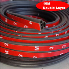 Upgraded 10M L-Shape Weatherstrip Car Hood Rubber Weather Seal Strip Universal