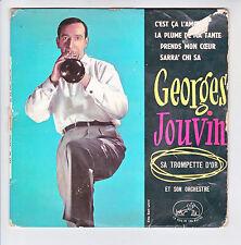 """Georges JOUVIN Disque 45T 7"""" EP C'EST CA L'AMOUR Trompette d'or EGF 466 RARE"""