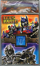 Transformers Birthday Invitations 8 With Thank You Cards Let's Party Unopened