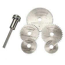 HSS Circular Saw Disc Set Dremel Mini Drill Rotary Tool Cutting Blade Accessorie