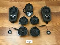 07-13 OEM BMW X5 E70 Speakers Speaker Set Logic 7 L7 Audio Harman Sound Tweeters