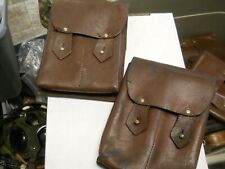Romanian Leather Ammo Pouches