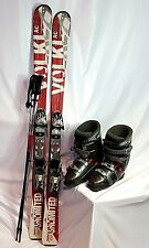 Volkl Unlimited SKI PACKAGE AC 145cm skis, Dalbello MXsuper boots, and Poles FIT