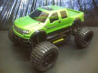 Raptor SVT Crew Custom Painted 4X4 Volcano EPX 1/10 RC Monster Truck Waterproof