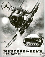 German Merecedes Messerschmitt 109 Engineering world war 2 postcard