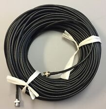 250ft BNC Male-Male Black RG-59 75 Ohm HD-CVI,HD-TVI,HD-SDI,HDTV Video Cable
