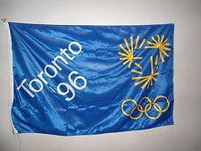 New Unused Toronto 1996 Failed Olympic Bid Flag Large 3X5 Feet Atlanta Won