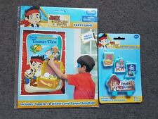 Jake the pirate partygame + candles 2 to 8 player decorations party supplies