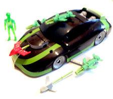 """BEN 10 cartoon 10"""" long CAR vehicle with exclusive Ben Figure toy"""