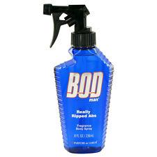 Bod Man Really Ripped Abs Cologne Parfums De Coeur Men 8 oz Body Spray