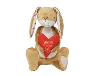 Guess How Much I Love You Nutbrown Hare Heart Soft Plush Toy Mother's Day Gift